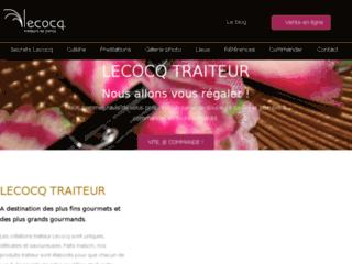 Détails : Lecocq, traiteur de mariage et de séminaire au Nord et à Paris