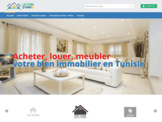 Annonces immobilieres en Tunisie