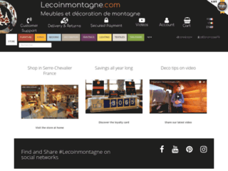La boutique en ligne Lecoinmontagne
