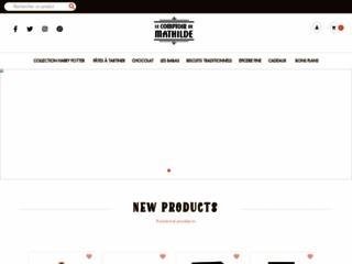 Détails : Le Comptoir de Mathilde - Epicerie fine et chocolaterie française