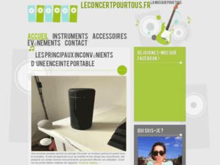 Détails : Leconcertpourtous.fr