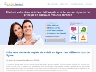 Détails : Comparer les taux de prêt personnel avec Lecreditrapide.fr