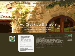 Gîte du Creux du Blanzon