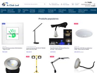 Détails : Vente en ligne d'ampoules LED