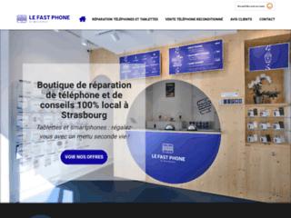 Le Fast Phone : Magasin de réparation téléphonique et vente de reconditionné à Strasbourg