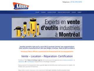 Détails : Location d'outils - Léger Palans