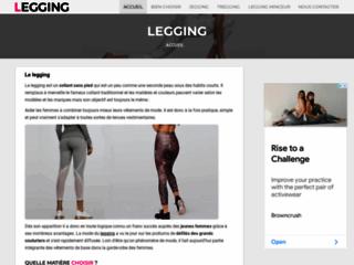 Détails : Une silhouette de rêve avec legging.fr