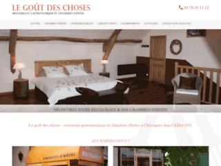 Détails : Restaurant gastronomique traditionnel Allier 03
