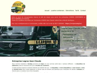 Votre entreprise de locations de containers à Seraing