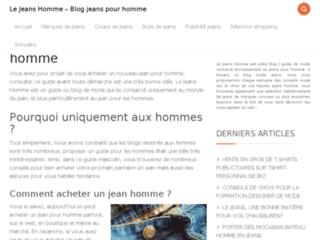 Détails : Blog conseil et relooking jeans homme