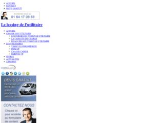Détails : Leasing utilitaire