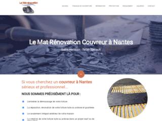 Artisan couvreur à Nantes et charpentier en rénovation