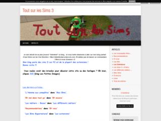 Tout sur les Sims 3