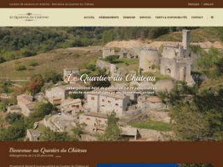 Détails : Le Quartier du Château en Ardèche méridional
