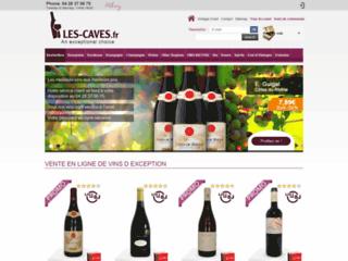 Détails : Vente de vin en ligne : Les Caves