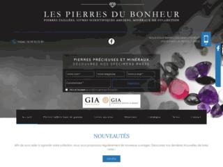 Détails : Les Pierres du Bonheur, pierres taillées et minéraux de collection