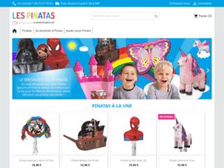 Les-pinatas.com : achat en ligne de pinatas pour l'anniversaire d'un enfant !