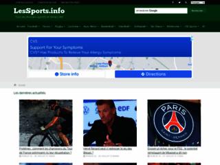 Détails : Les Sports info - Les résultats sportifs