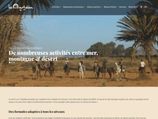 Les 2 gazelles, randonnée à cheval dans le sud Marocain