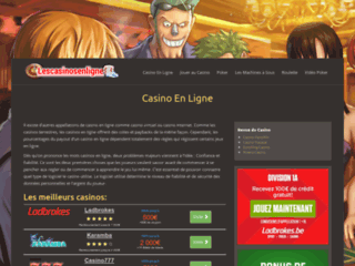 Détails : Casino en ligne francais