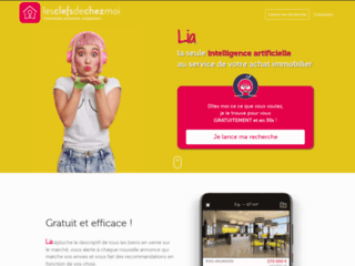 Les Clefs de Chez Moi est un portail d'annonces immobilières nouvelle génération