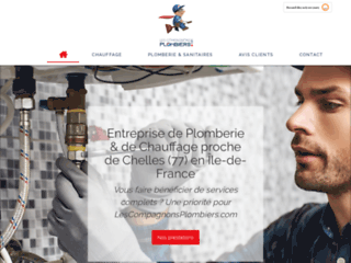 LesCompagnonsPlombiers.com à Champs-sur-Marne