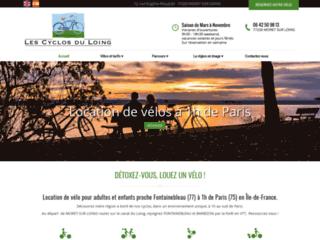 Loisirs : Les cyclos du Loing à Moret sur Loing 77