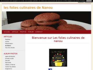 Les Folies Culinaires de Nanou