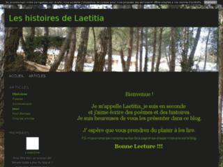 Les histoires de Laetitia