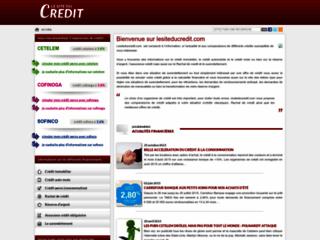 Détails : Le site du crédit