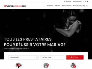 Détails : le site du mariage