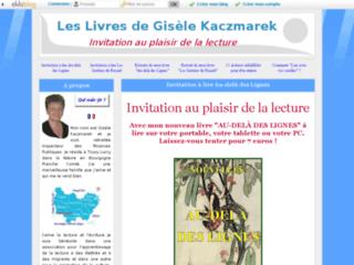 Les Livres de Gisèle Kaczmarek