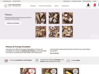Plateau de fromage disponible en ligne