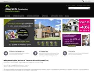 Braumes Construction : acheter de meilleures maisons modulaires