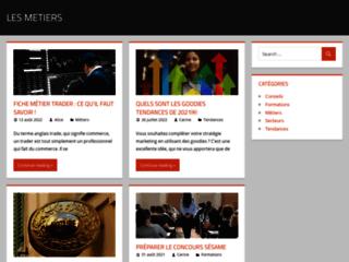 Les métiers : un blog d'information concernant l'emploi