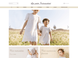 Détails : Les petits Inclassables, robes de cérémonie pour filles