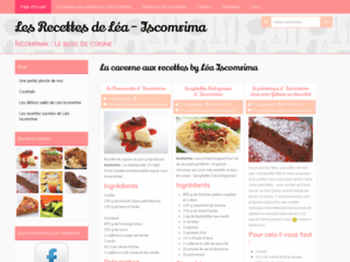 Les recettes de Léa Iscomrima