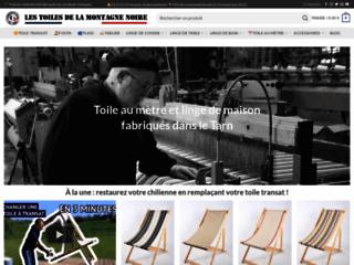 Détails : Tissus et toiles de fabrication française - Les Toiles de la Montagne Noire