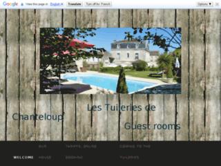 """Chambres d'hôtes """" Les Tuileries de Chanteloup"""""""