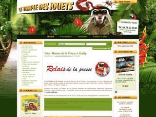 Détails : Le Temple des Jouets, librairie, papeterie et magasin de jouets, Écully