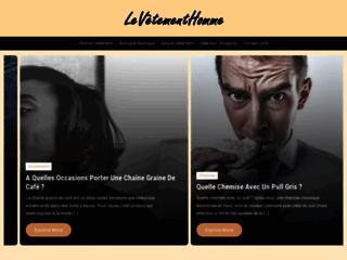LeVetementHomme - Blog de mode pour homme
