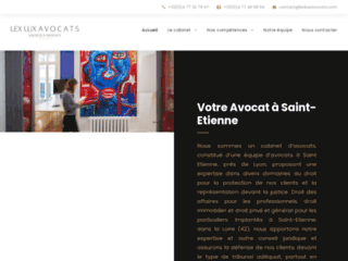 LEX LUX AVOCATS, cabinet de référence à Saint-Etienne