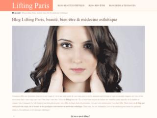 Tout savoir sur le lifting à Paris