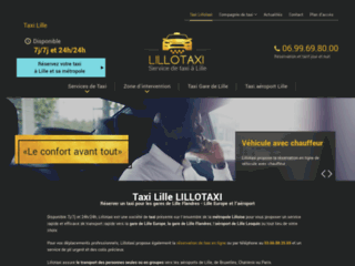 Lillotaxi - Taxi à Lille