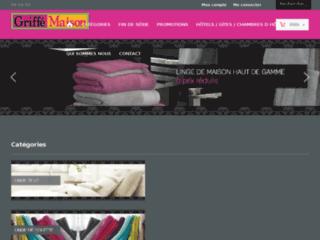 Détails : Boutique en ligne de linge de maison