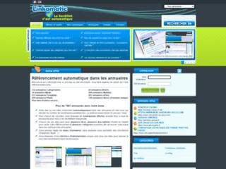 Détails : Linkomatic, référencement automatique dans les annuaires