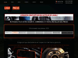 Détails : Accueil | LiquiPneus | Votre centre de ventes de pneus à Laval
