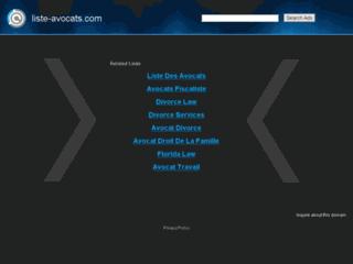 Liste Avocats : portails et annuaire juridique