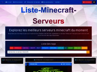 Liste-Minecraft-Serveurs: Liste des meilleurs serveurs Minecraft