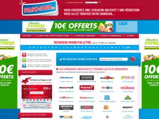 Détails : Code de livraison gratuite frais de ports offerts